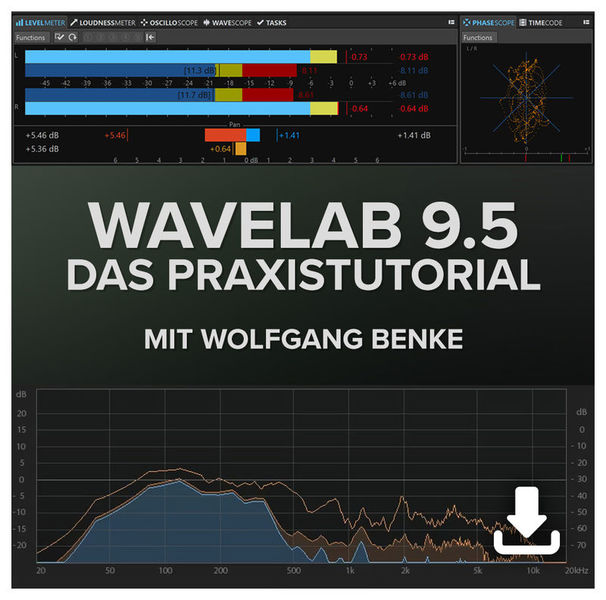 DVD Lernkurs Wavelab 9.5 Praxistutorial