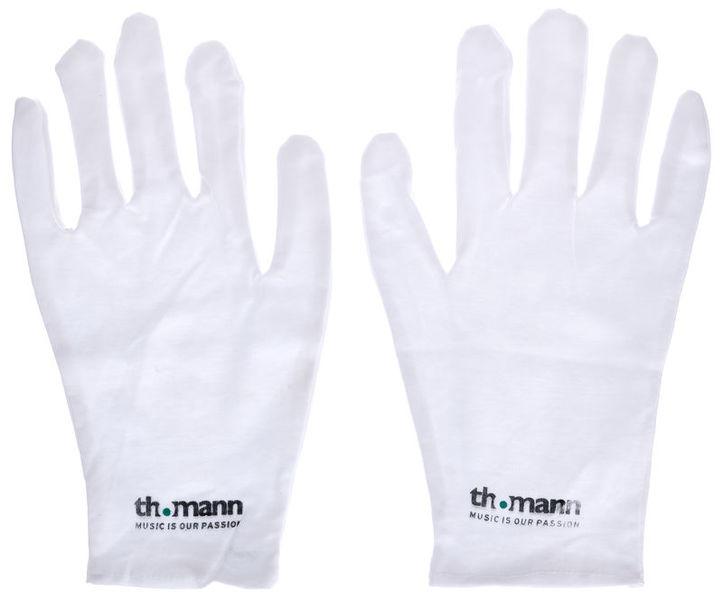 Thomann Cotton Gloves White L