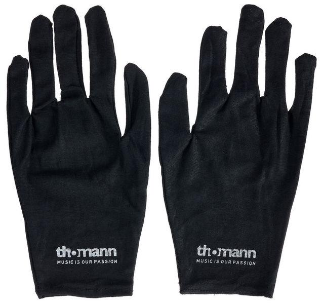 Thomann Cotton Gloves Black L