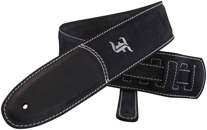 Guitarstrap Black Furch