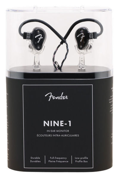 IEM Nine 1 Black Metallic Fender