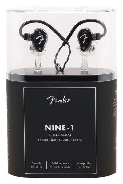 Fender IEM Nine 1 Black Metallic