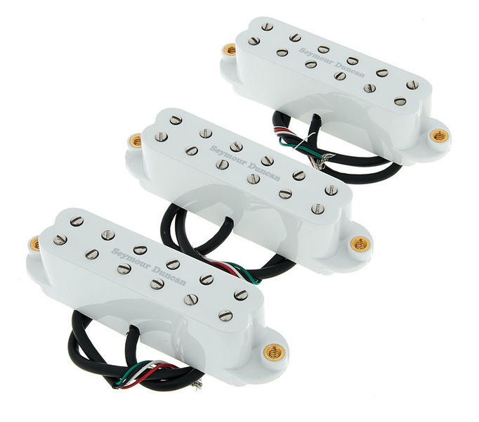 Seymour Duncan Red Devil Pickup Set White