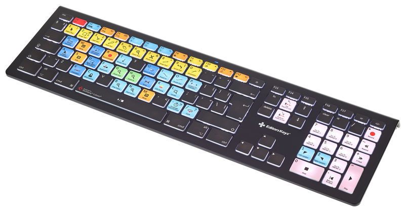 Editors Keys Backlit Keyboard Cubase MAC UK
