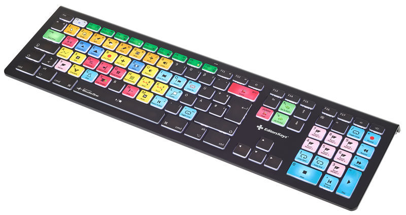 Editors Keys Backlit Key. Studio One MAC DE