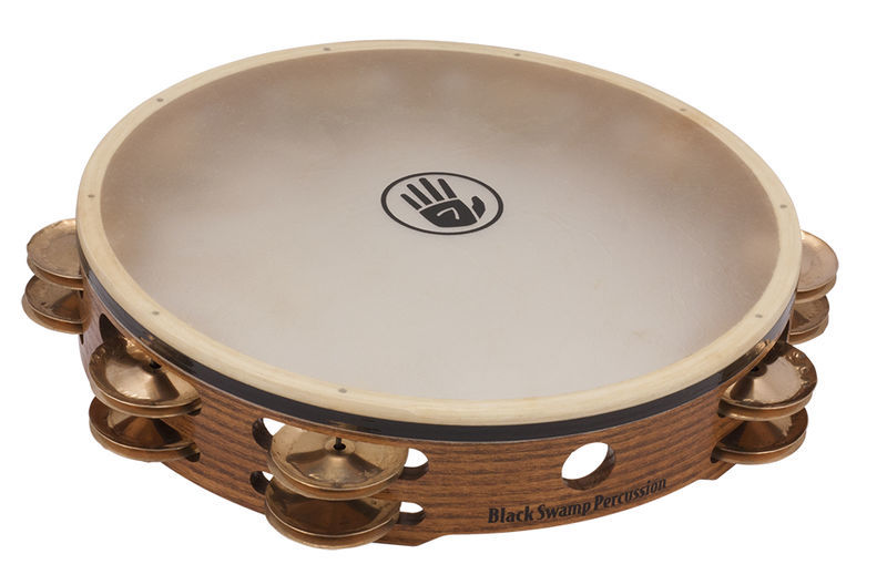TD4S Tambourine Black Swamp Percussion
