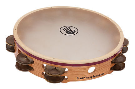 S3TD Tambourine Black Swamp Percussion