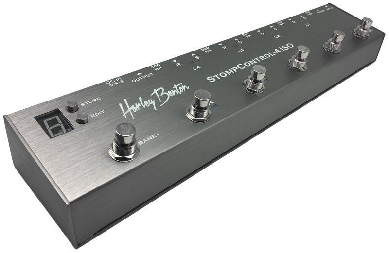 StompControl-4 ISO Harley Benton