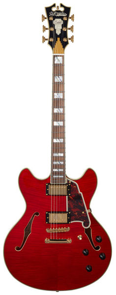 DAngelico Excel DC Cherry Stb.