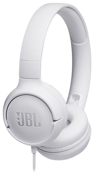 JBL by Harman Tune 500 White