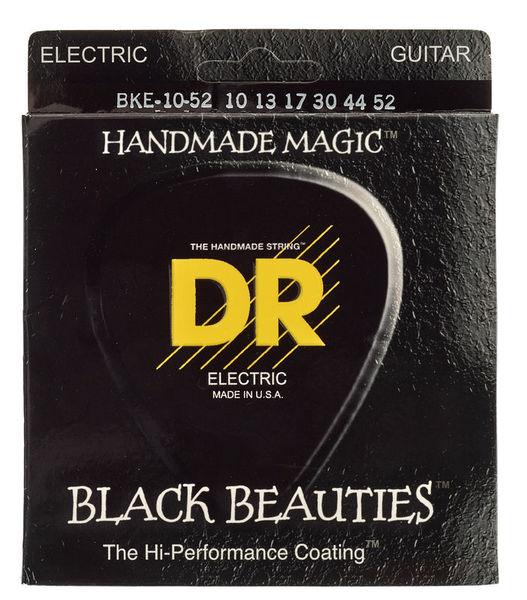 DR Strings Black Beauties BKE-10/52