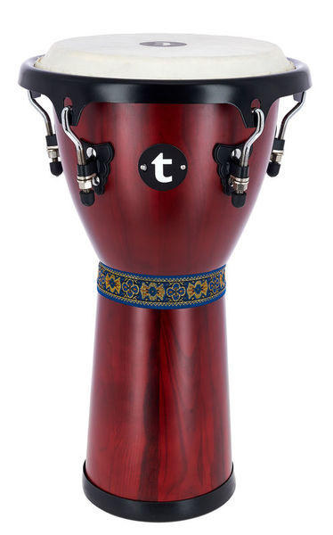 "Thomann 10"" Djembe Satin Red"