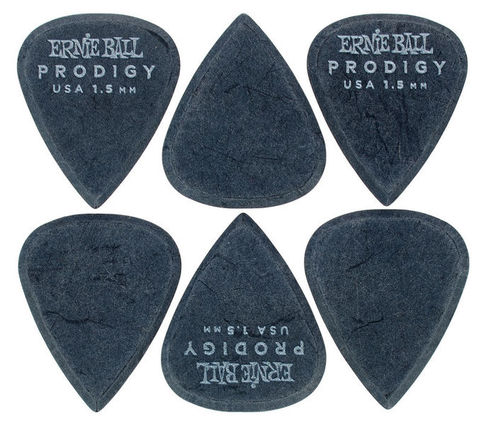 Ernie Ball Prodigy Picks 1,5 mm STD BK