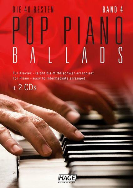 Pop Piano Ballads 4 Hage Musikverlag