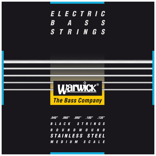 Bass String 5-St. Med/Light Warwick