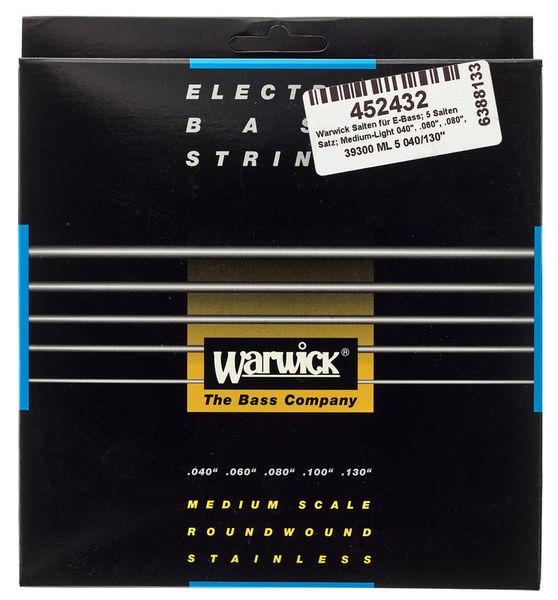 Warwick Bass String 5-St. Med/Light