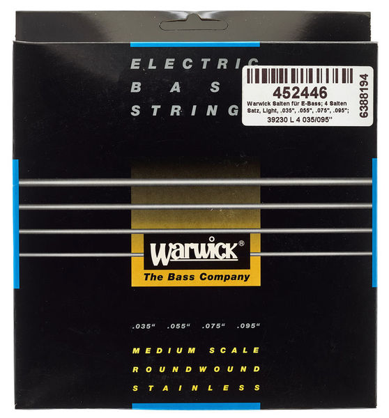 Warwick Bass Set 4-String Light MS