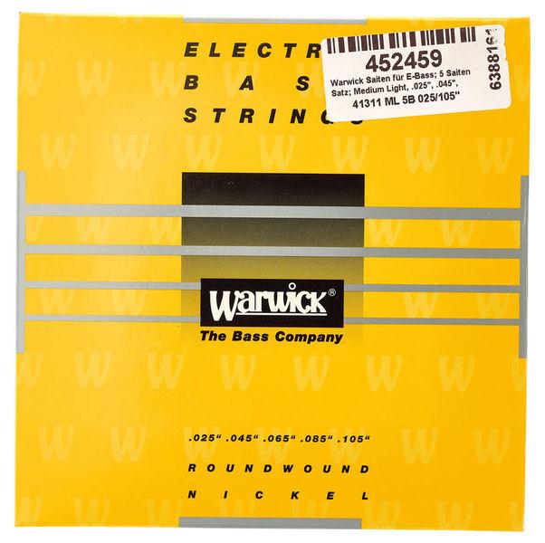 Warwick Bass Set 5 String Med/Light