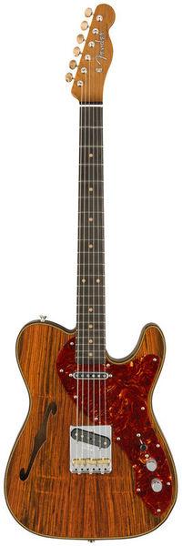 Fender Artisan Tele Thinline Cocobolo