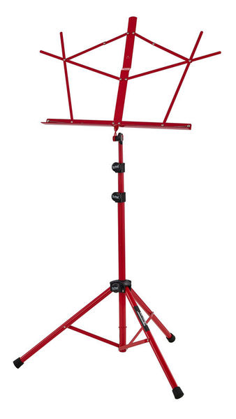 On-Stage Music Stand SM7222 Red