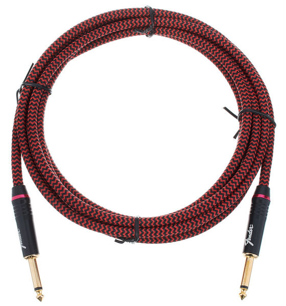 Fender Vintage Voltage 12ft Cable Red