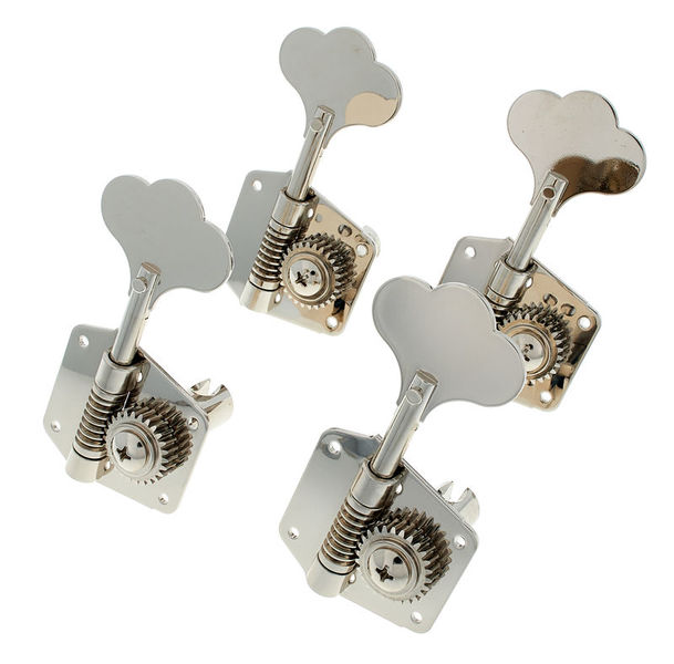 GOLD NEW Gotoh Japan GB707 Bass Machine Heads 4-in-line Tuners SET w// Screws