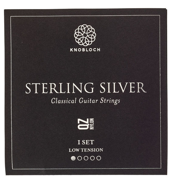 Knobloch Strings Pure Sterling Silver Nylon 200