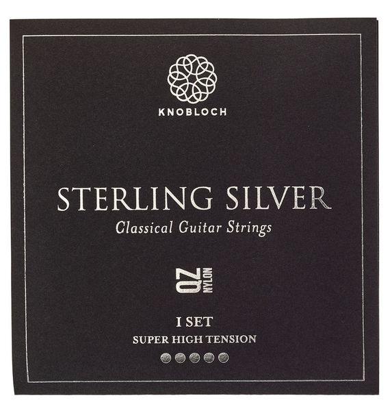 Knobloch Strings Pure Sterling Silver Nylon 600