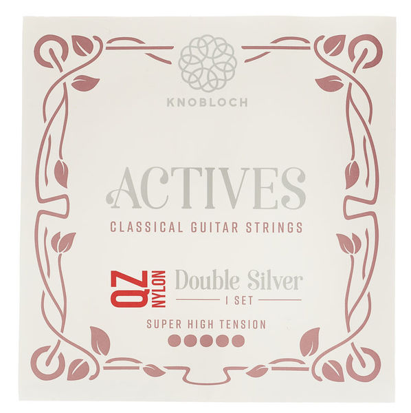 Knobloch Strings Double Silver Nylon 600ADQ