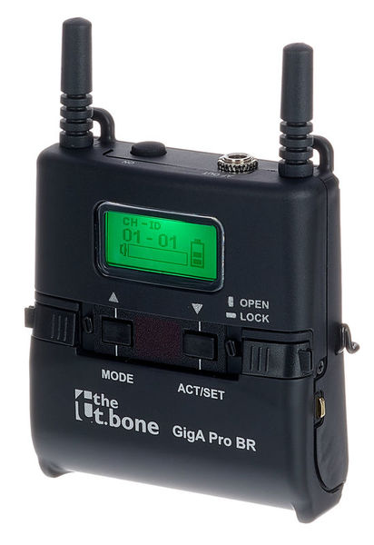 the t.bone GigA Pro Bodypack Receiver