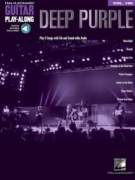 Hal Leonard Guitar Play-Along Deep Purple