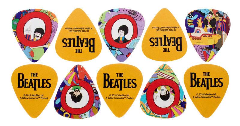 Daddario Beatles Yellow Sub Pick Heavy