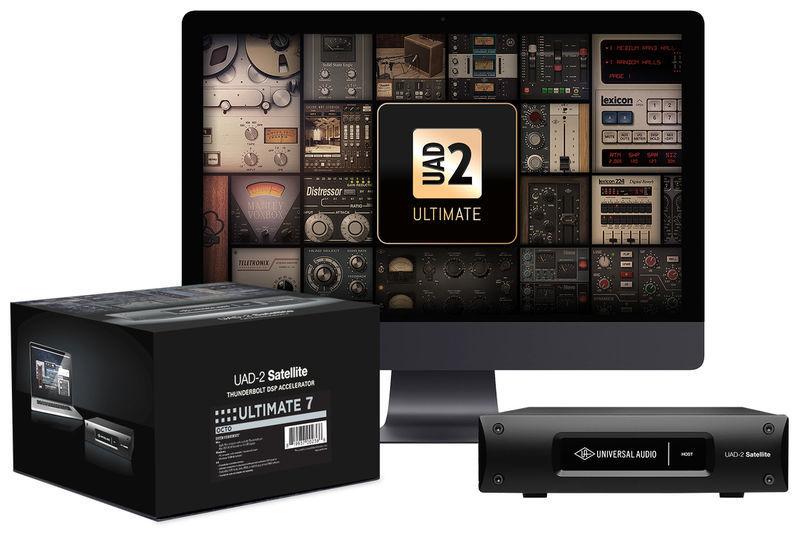 Universal Audio UAD-2 Satellite TB Octo Ult. 7