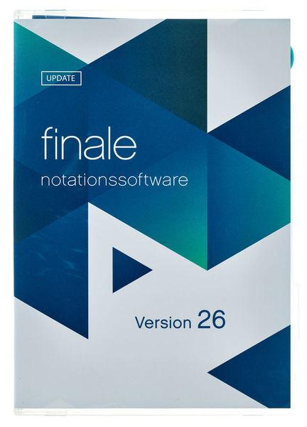 MakeMusic Finale 26 (D) Update 2014