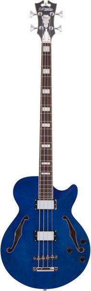 DAngelico Premier Bass Trans Blue