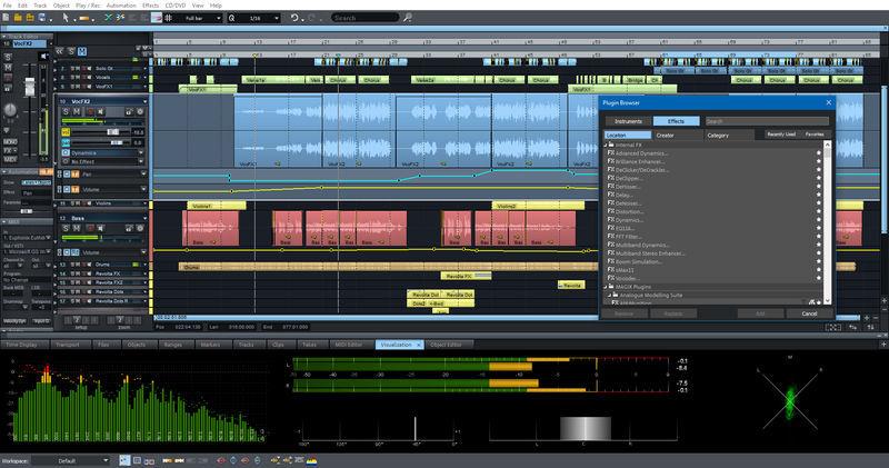 Magix Samplitude Pro X4 Suite Upgr.