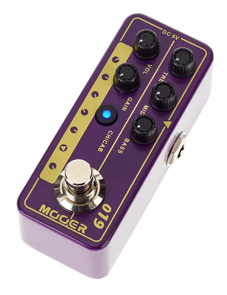 Mooer Micro PreAmp 019 UK Gold PLX