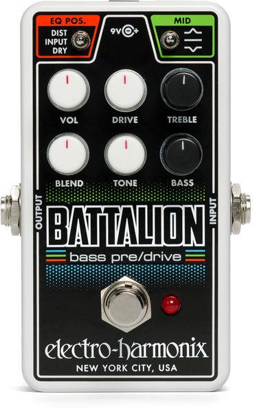 Nano Battalion Bass Pre & OD Electro Harmonix