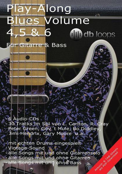Play Along Blues Vol.4, 5 & 6 db loops