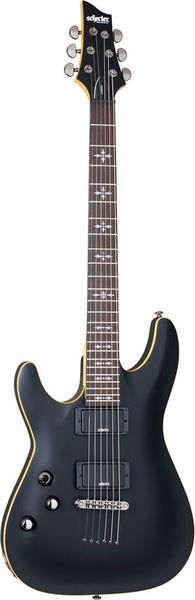 Schecter Demon-6 LH Satin Black