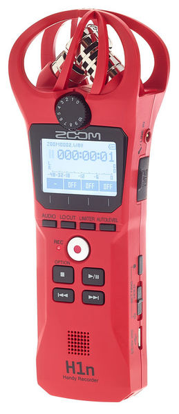 Zoom H1n Red Limited Edition
