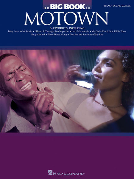 Hal Leonard The Big Book Of Motown PVG