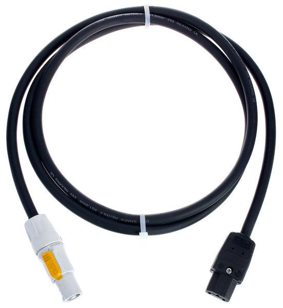 Stairville Power Adapter PowerTw - IEC 2m