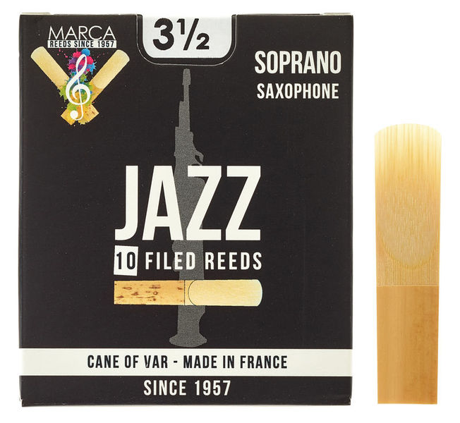 Marca Jazz filed Soprano Sax 3,5