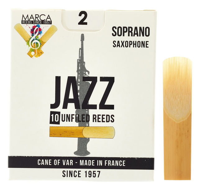 Marca Jazz unfiled Soprano Sax 2