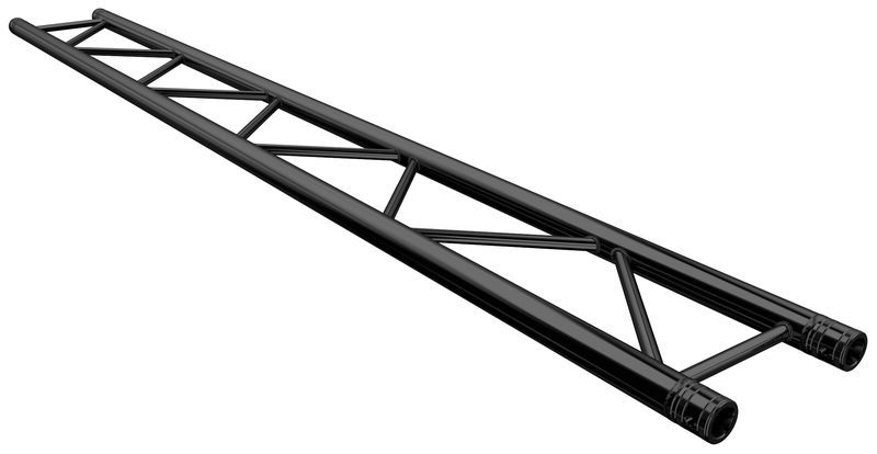 F32250-B Truss 2,5 m Black Global Truss