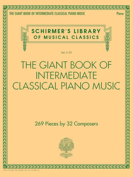 Giant Inter Classic Piano G. Schirmer