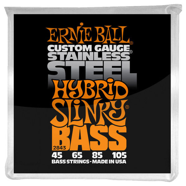 2843 E-Steel Bass Ernie Ball