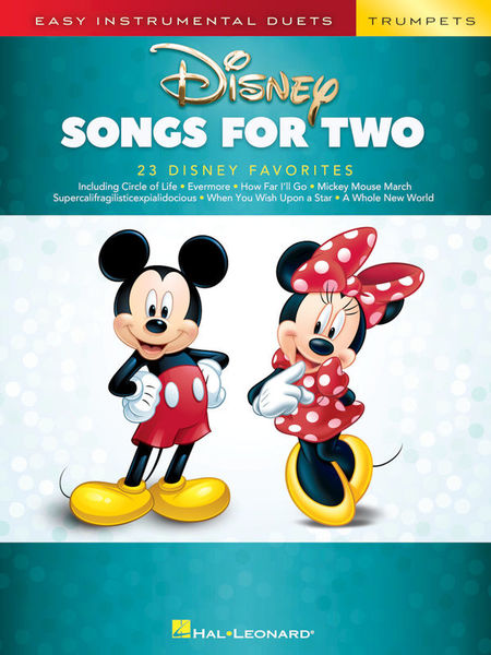 Hal Leonard Disney Songs For Two Trumpet
