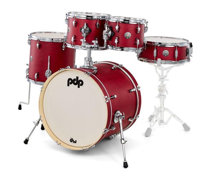 DW PDP Spectrum Studio Kit Red